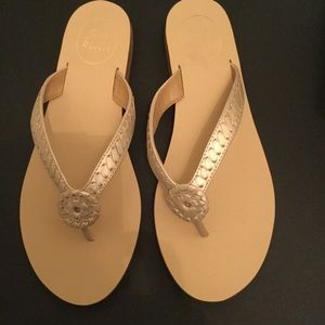 Jack Rogers Ali Whipstitch Sandals Size 9 New